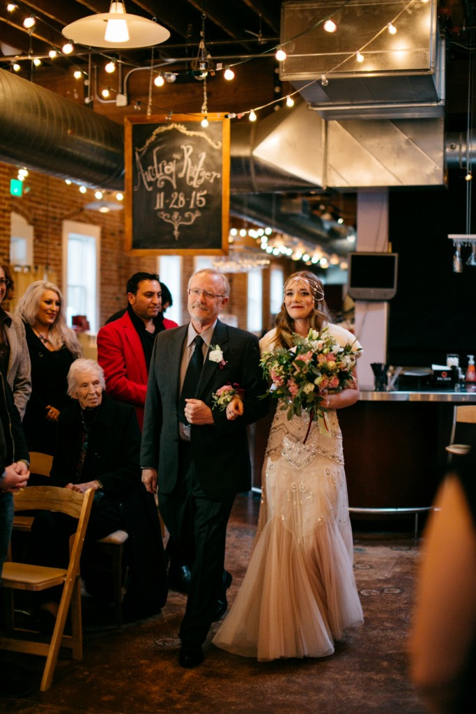 Downtown Boise Wedding at The Bardenay by Kendra Elise Photography