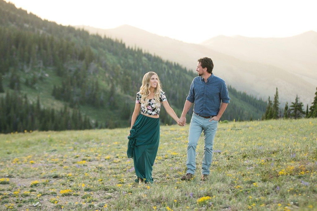 Mountain Engagements in Idaho by Carli & Beau