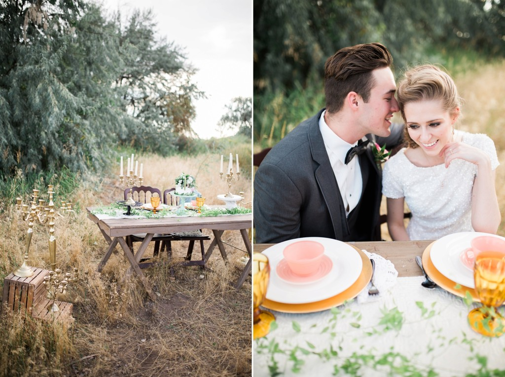 Summer Outdoor Idaho Wedding Styled shoot by Casey James Photography