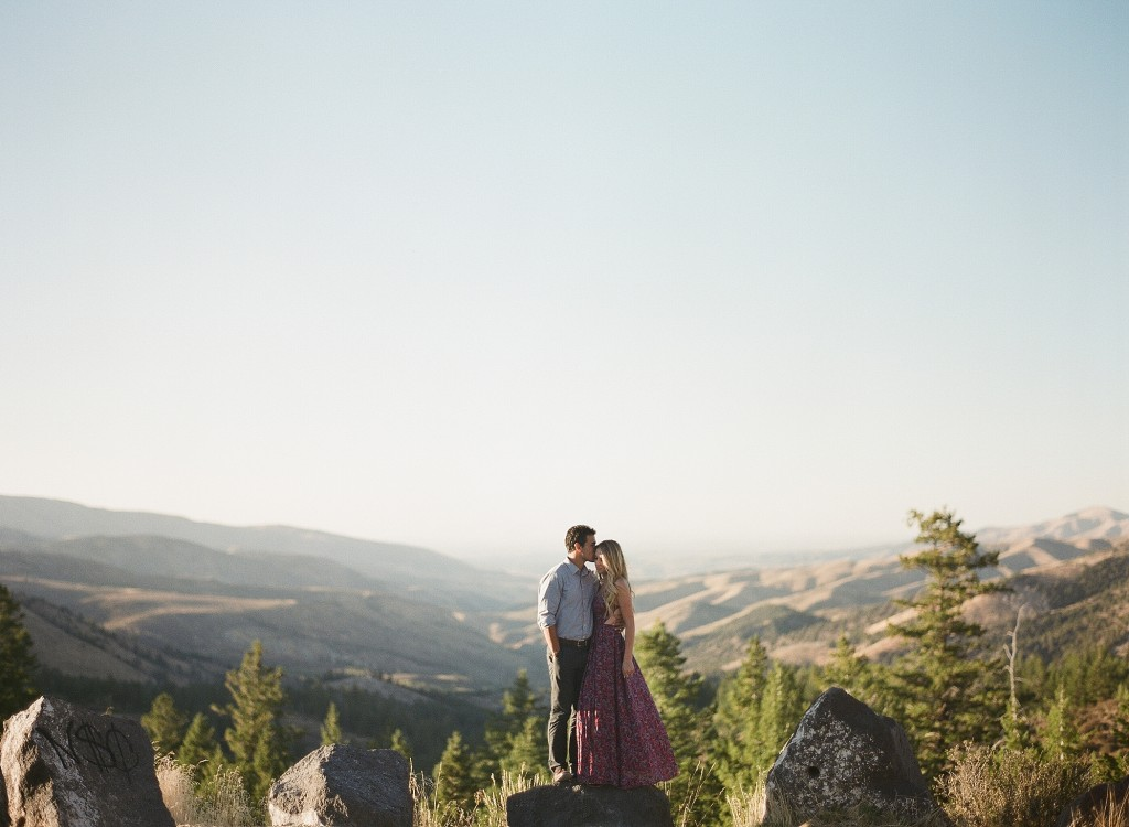 Idaho Mountain Engagements by Jenny Losee