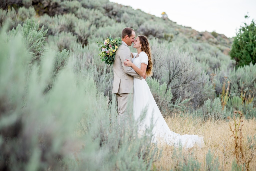 Idaho Bridal Session in Rexburg Foothills by Michelle and Logan