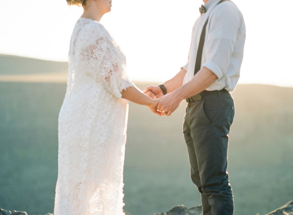 Idaho Desert Vow Renewal by Ben and Joella