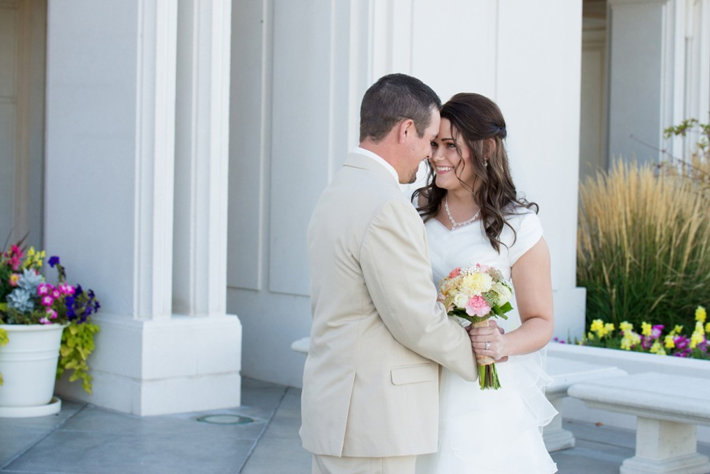 Rexburg Idaho LDS Temple Wedding Photographer- Janelle Andersen