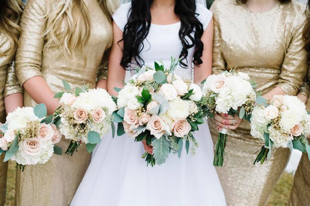 The Rose Shop serving southeast Idaho's wedding floral needs