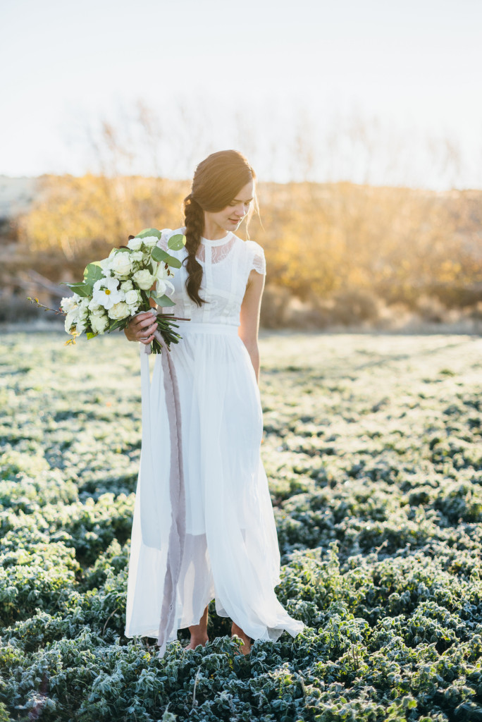 Sunrise Idaho Falls Wedding and Bride by Cole Maxfield Photography