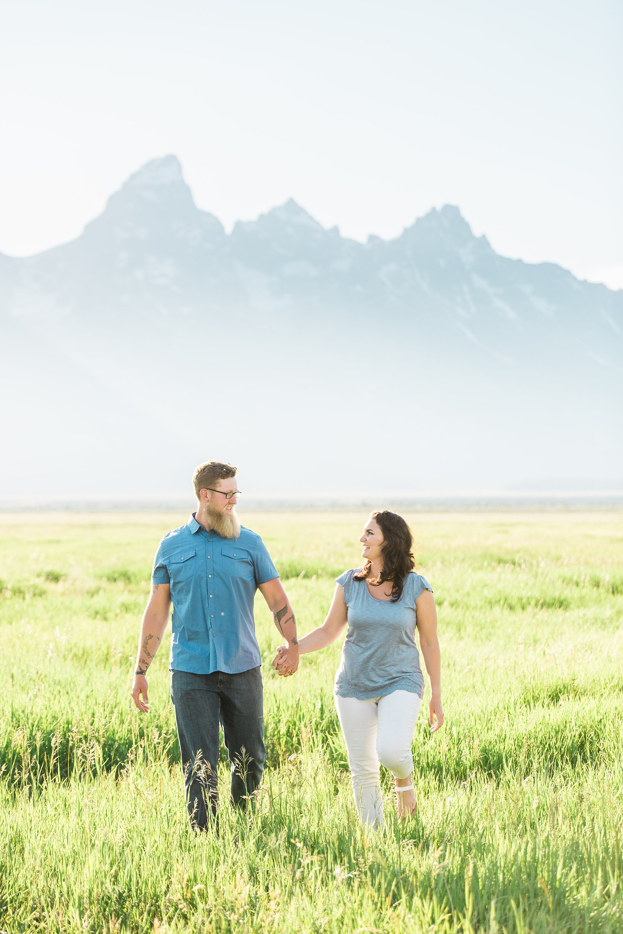 Jenny's Lake Summer Engagements | Idaho Wedding Photographer | Kendra Sue Photography