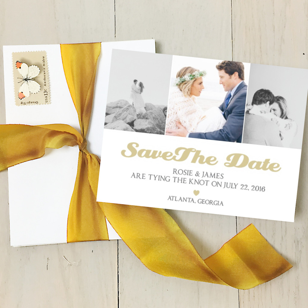 Neutral save the date | Basic Invite