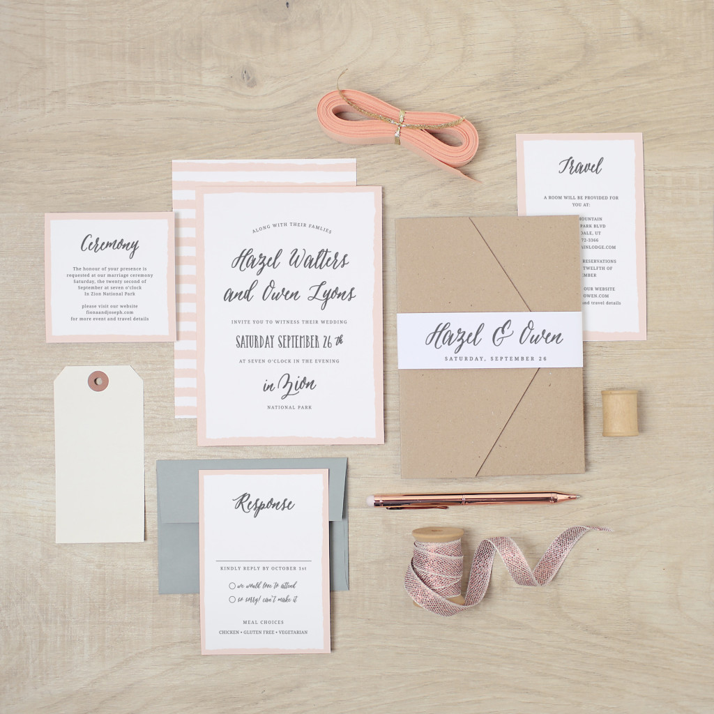 Wedding Invitation suite | Basic Invite