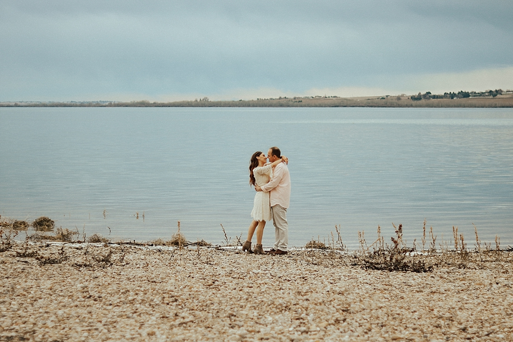 Boise, Idaho Wedding Photographer | Kylee Olivia Photography | Lake Lowell Engagements